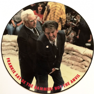 "Frankie Goes To Hollywood - War (Hidden) (12"") (Picture Disc) (VG-/G+)"